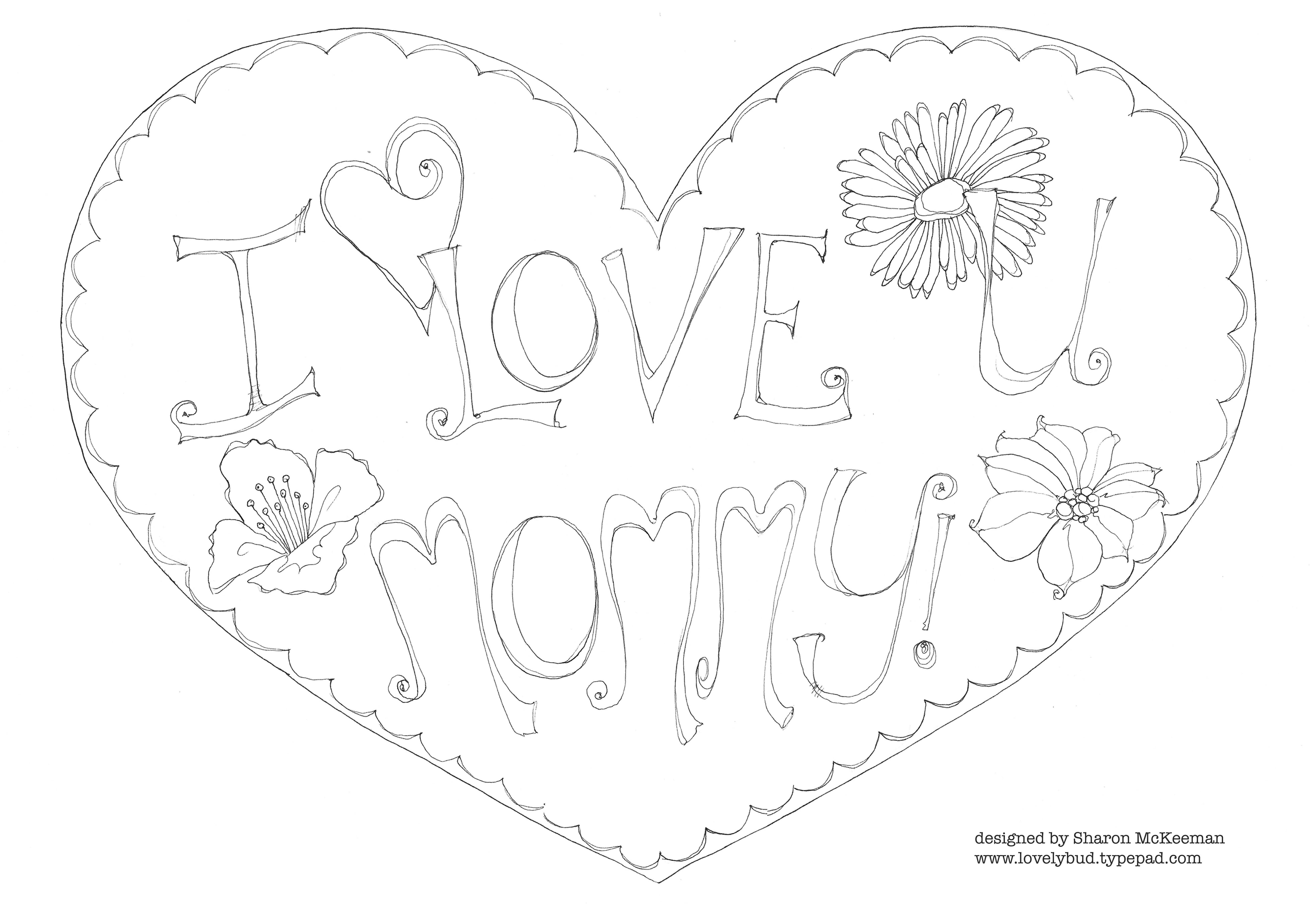 Easy I Love You Drawings For Him